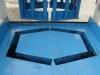 Árokelem sablon 40x60x33cm