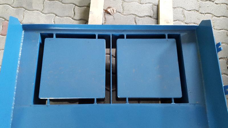 Pillér zsalukő (40x40x23cm) sablon